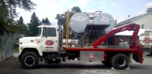 G.A. Bove Fuels - truck with large fuel tanks