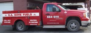 G.A. Bove Fuels service truck