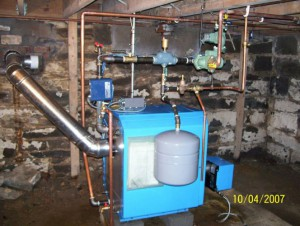 Residence in Clifton Park AFTER new Buderus Boiler installation