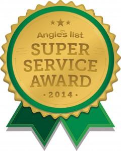 Angie's List Super Service Award 2014 logo